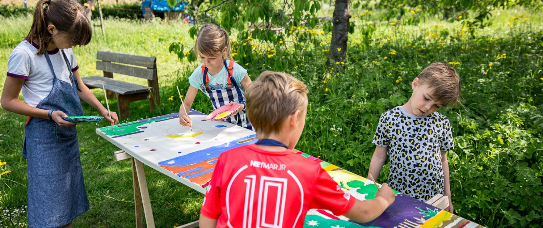 Homepage Kleurjekist kinderen schilderen