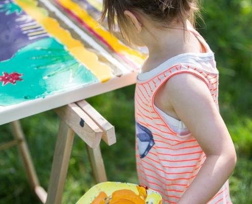 Beschilderen Kleurjekist - afscheid nemen kinderen